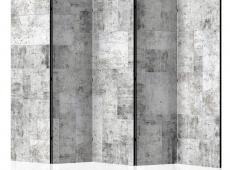 Paraván - Concrete: Grey City II [Room Dividers]